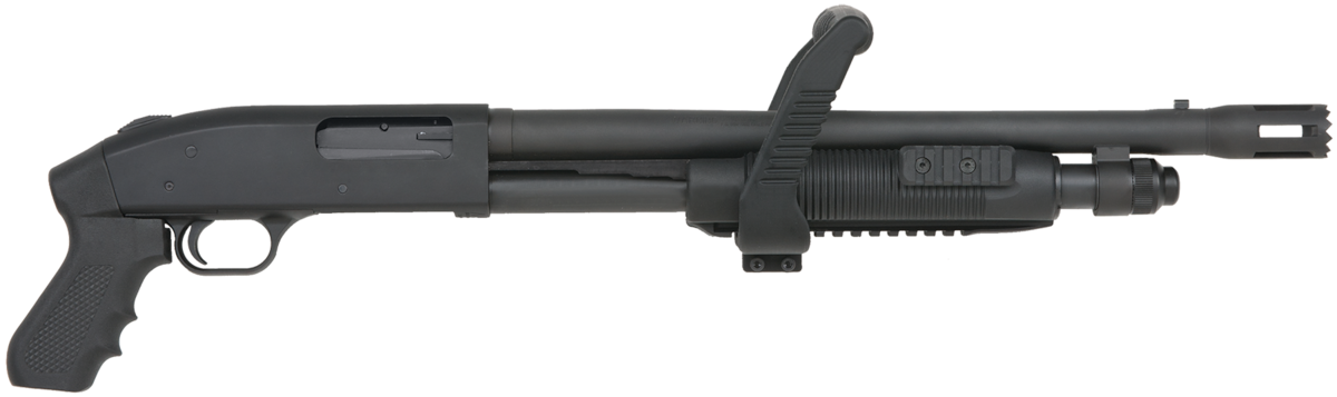 MOSSBERG 500 TACTICAL CHAINSAW