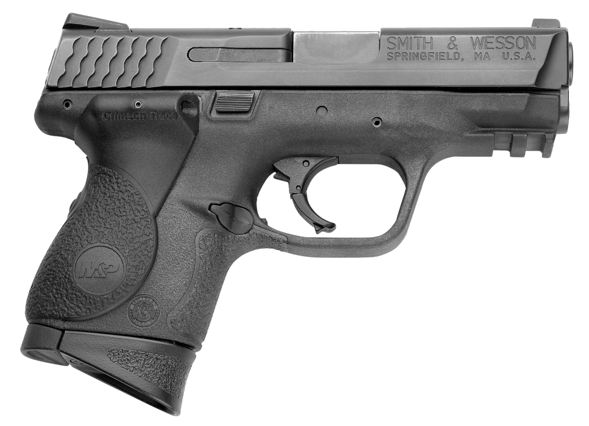 SMITH & WESSON M&P9 COMPACT CRIMSON TRACE LASERGRIP