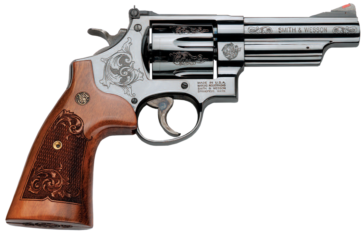 SMITH & WESSON 29 MACHINE ENGRAVED