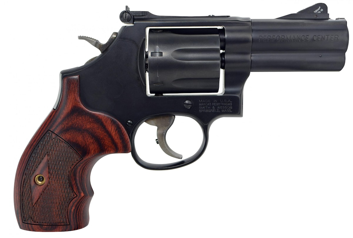 SMITH & WESSON 586 L-COMP PERFORMANCE CENTER