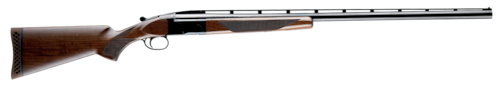 browning shotgun single shot wood stock blued barrel high comb