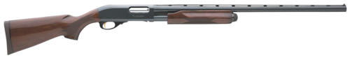 remington shotgun wood furniture blued barrel
