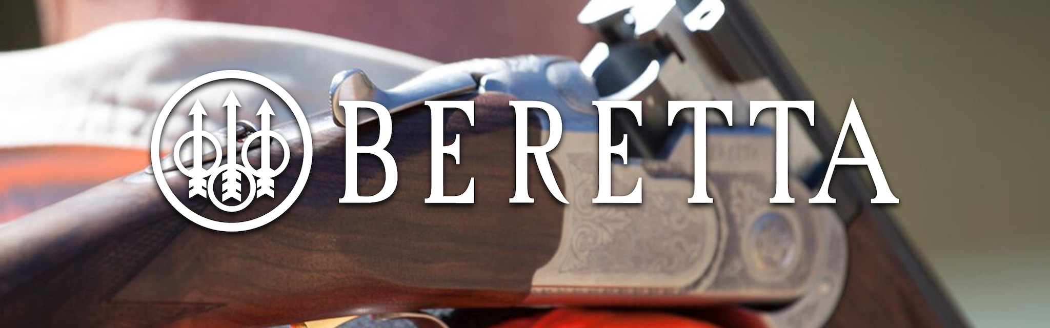 Beretta Header Image over under shotgun