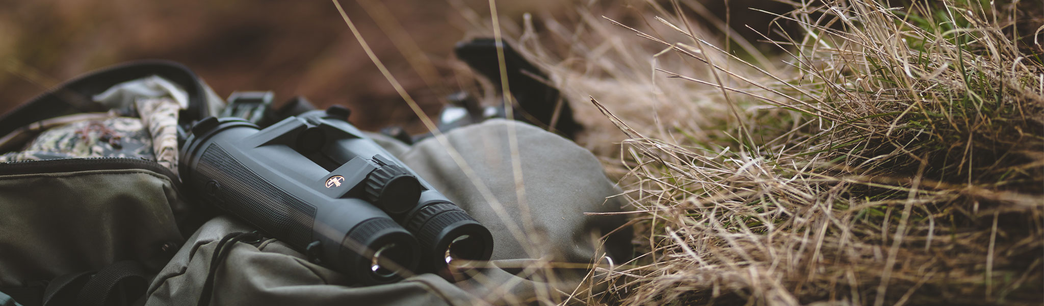 Binoculars grass bag
