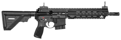 Heckler and Koch Semi Auto Rifle Black