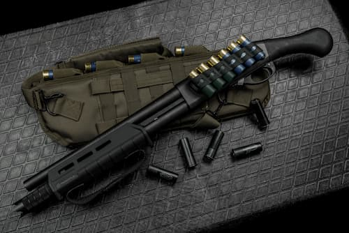 shotgun bag and shells