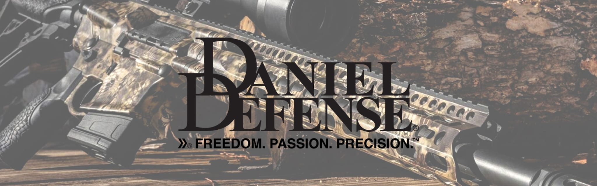 Daniel Defense Brand Banner Updated Logo