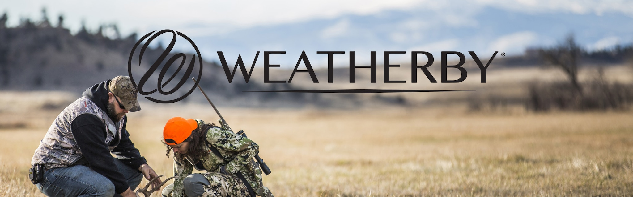 weatherby brand banner