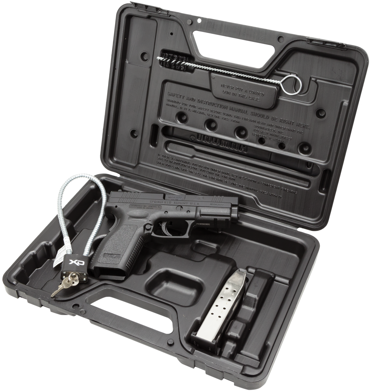SPRINGFIELD ARMORY XD-4 SERVICE ESSENTIAL PACKAGE CA COMPLIANT