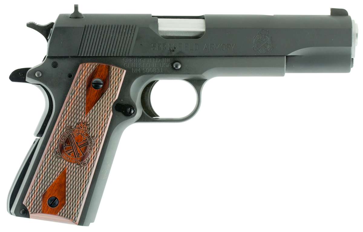 SPRINGFIELD ARMORY 1911 MIL-SPEC CA COMPLIANT