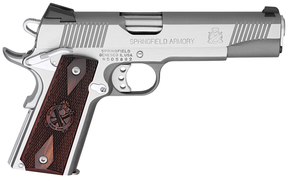 SPRINGFIELD ARMORY 1911 LOADED CA COMPLIANT