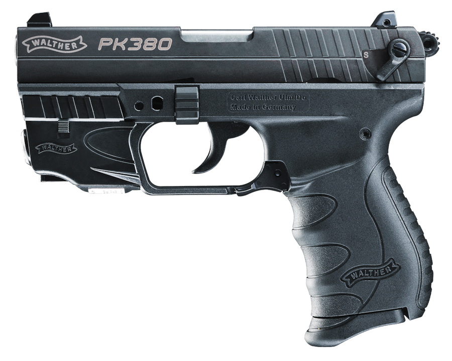 WALTHER PK380 WITH LASER SET