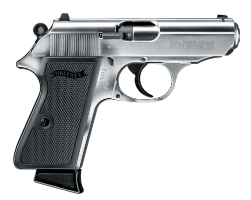 Walther PPK Handgun Semi Auto Stainless James Bond