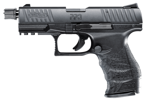 Walther PPQ Semi Auto Handgun Threaded Barrel Black