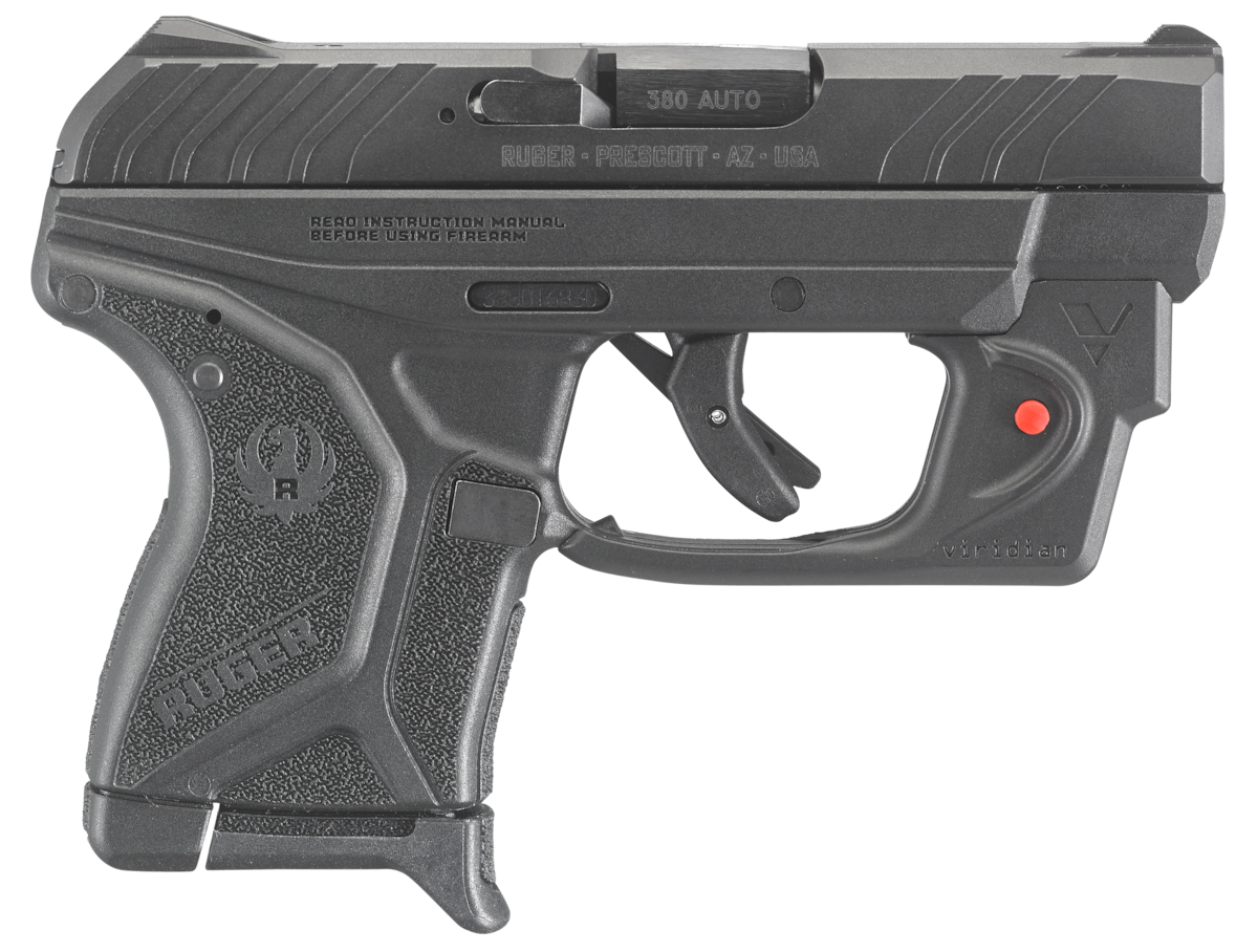 RUGER LCP II WITH VIRIDIAN LASER