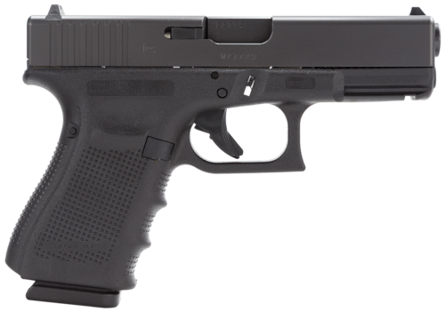 black glock handgun