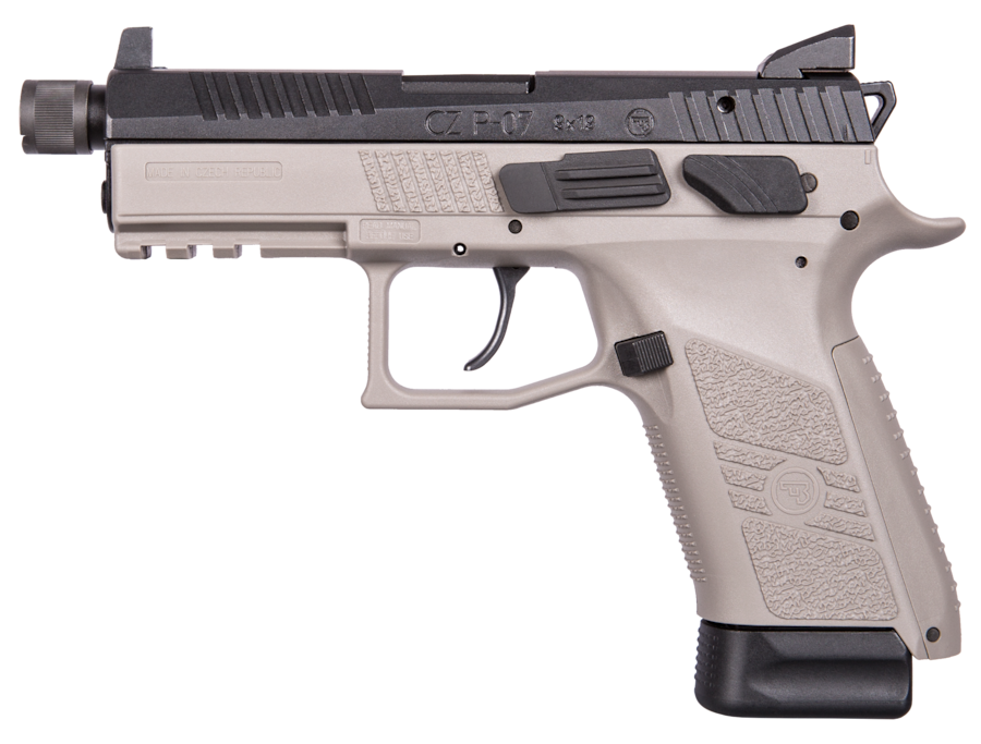 CZ P-07 URBAN GREY SUPRESSOR READY