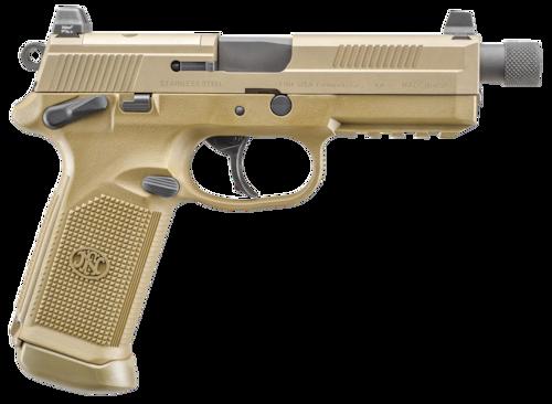 fn tactical handgun threaded barrel FDE