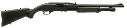 FN p-12 pump action shotgun black