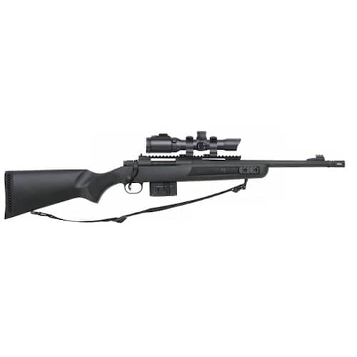 mossberg rifle with scope