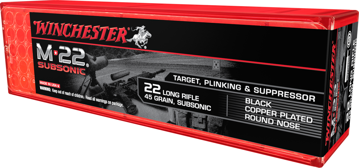 WINCHESTER M-22 SUBSONIC SUBSONIC