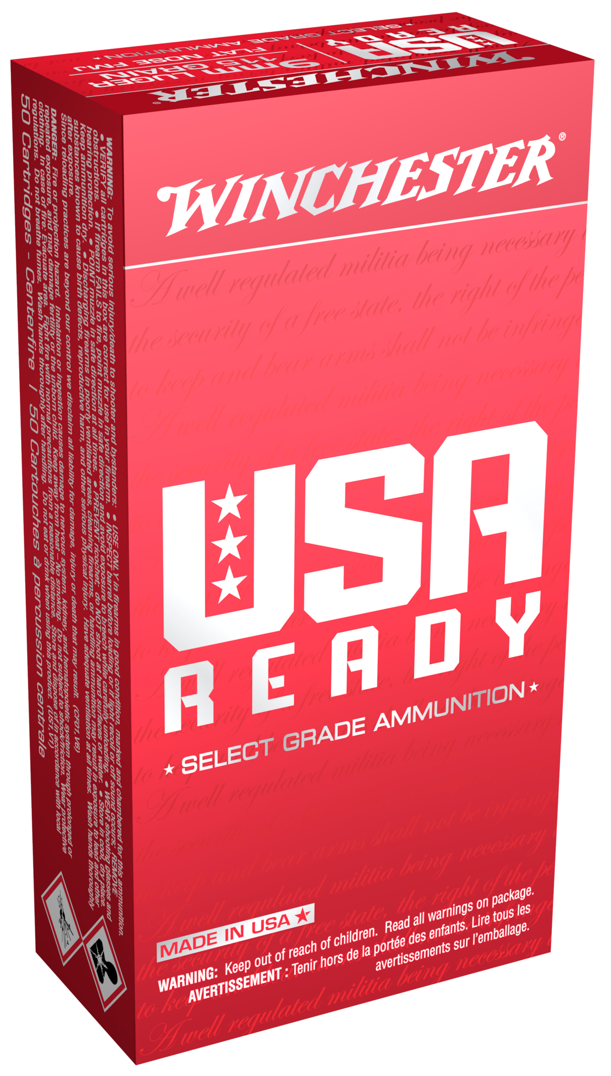 WINCHESTER USA READY