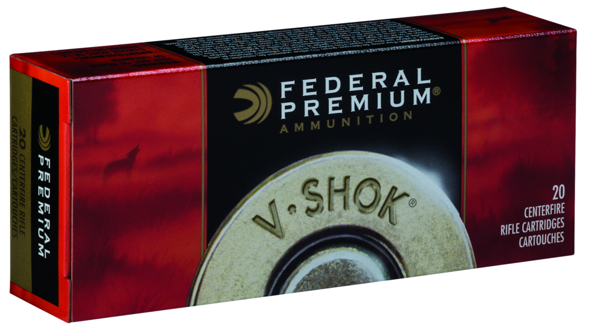 FEDERAL PREMIUM V-SHOK TNT GREEN