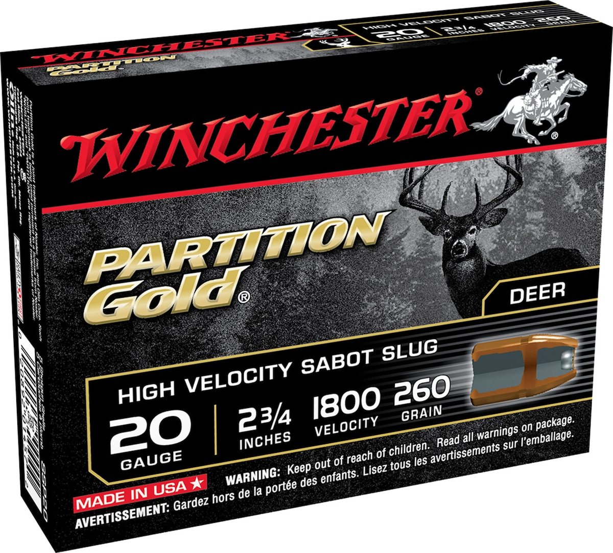 WINCHESTER PARTITION GOLD
