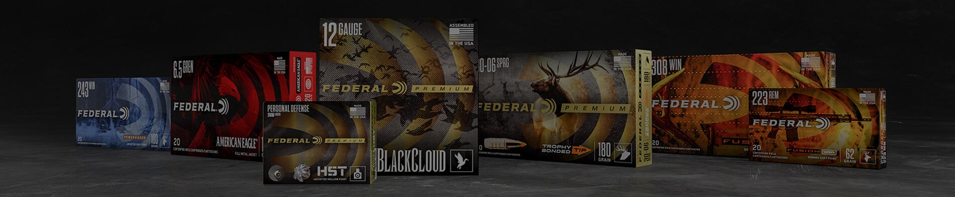 Federal Ammo Banner