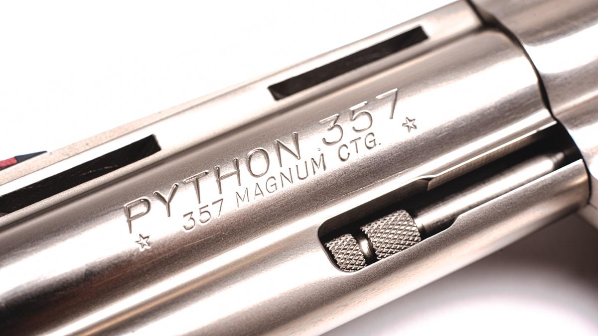 COLT PYTHON SATIN NICKEL