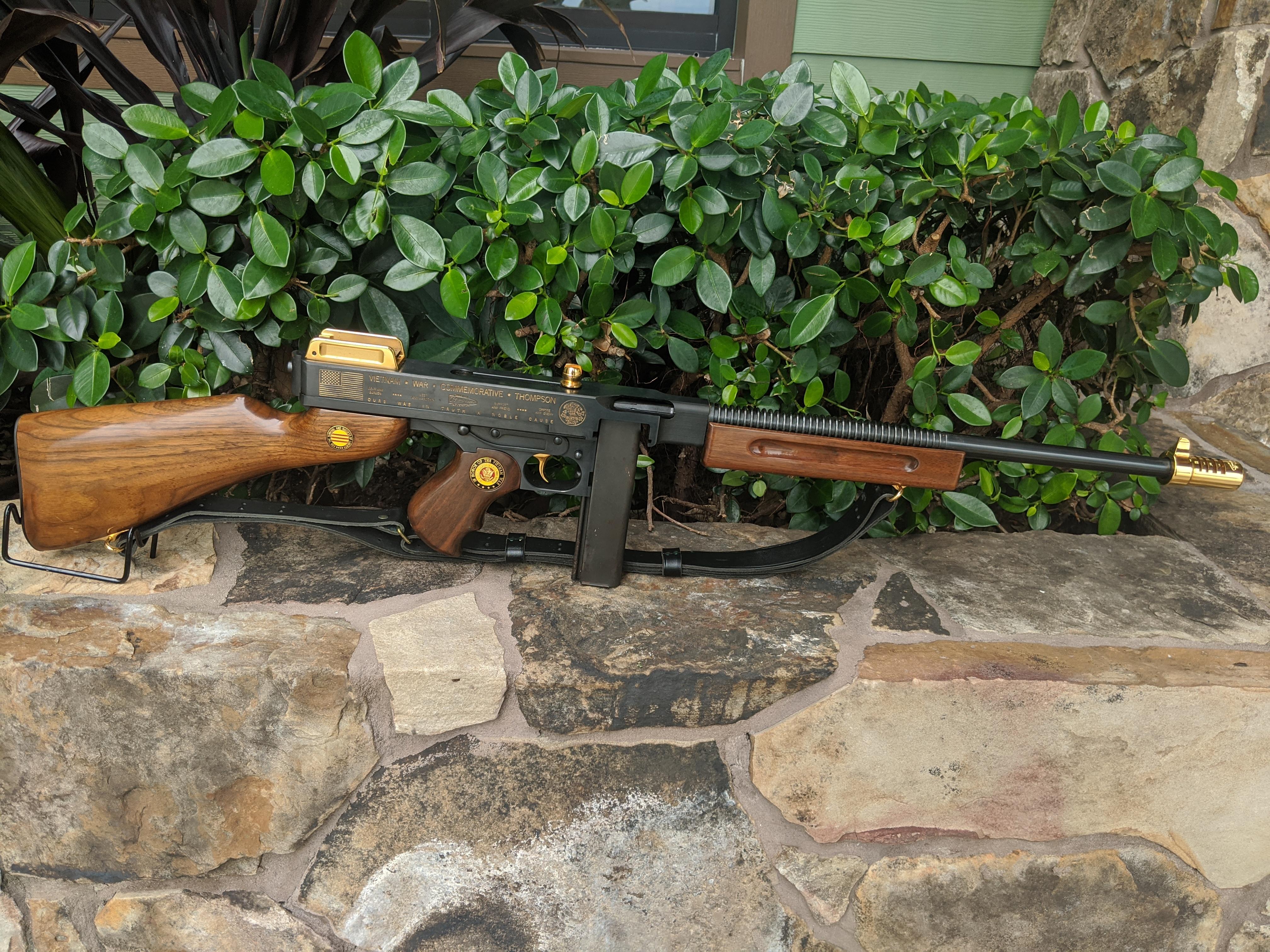 AUTO-ORDNANCE Vietnam War Commemorative Thompson