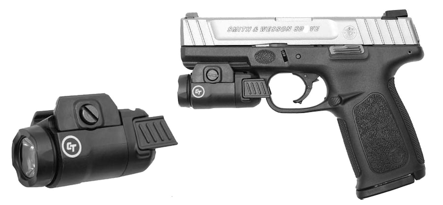 SMITH & WESSON SD 9 VE Crimson Trace Rail Master