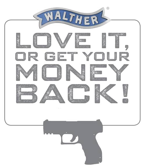 Walther Money Back Guarantee Image