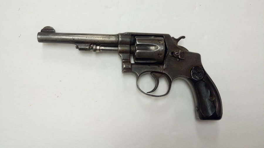 SMITH & WESSON hand ejector 1903 (2nd model)