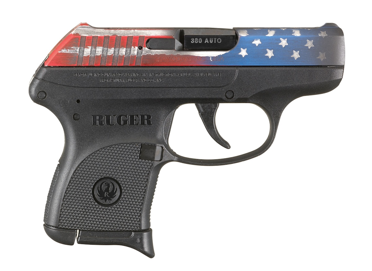 RUGER LCP AMERICAN FLAG