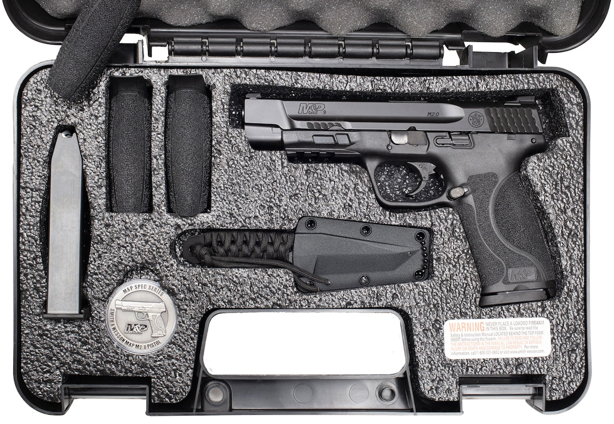 SMITH & WESSON M&P9 SPEC SERIES KIT