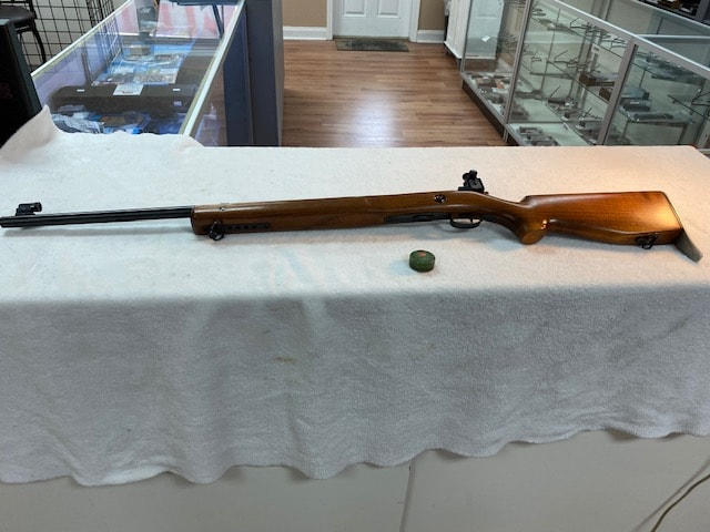 WINCHESTER Model 75 w/ Lyman Match Peep Sight