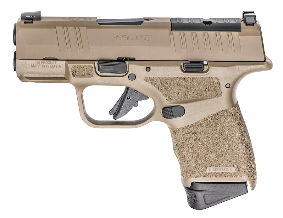 SPRINGFIELD ARMORY HELLCAT FDE OPTICS READY