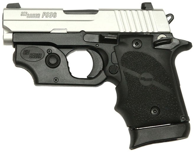 SIG SAUER P938 TWO-TONE