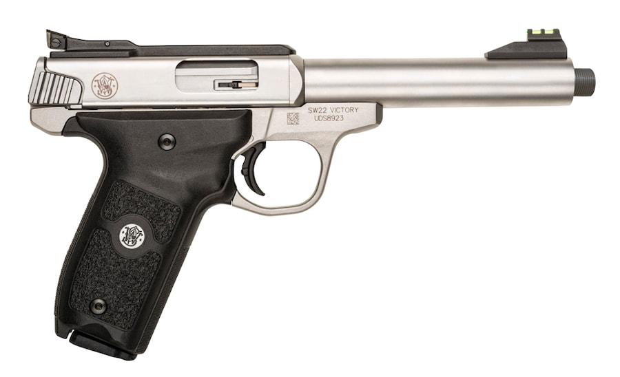 SMITH & WESSON SW22 VICTORY THREADED BARREL