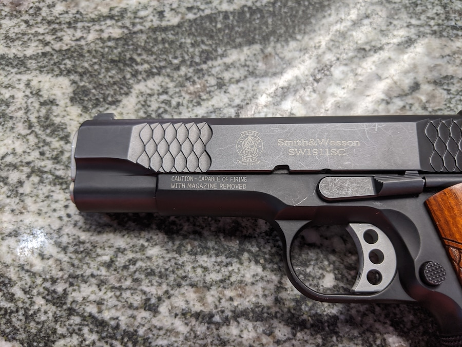 SMITH & WESSON SW1911 E SERIES SCANDIUM