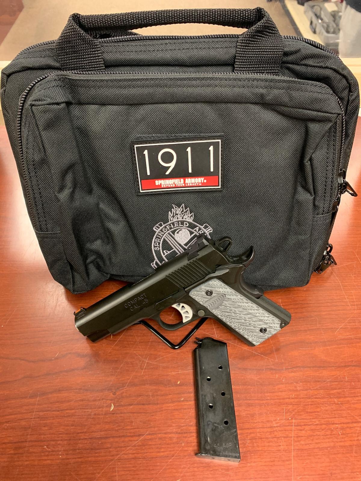 SPRINGFIELD ARMORY 1911 ro elite compact