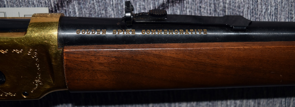 WINCHESTER 94 GOLDEN SPIKE COMMEMORATIVE
