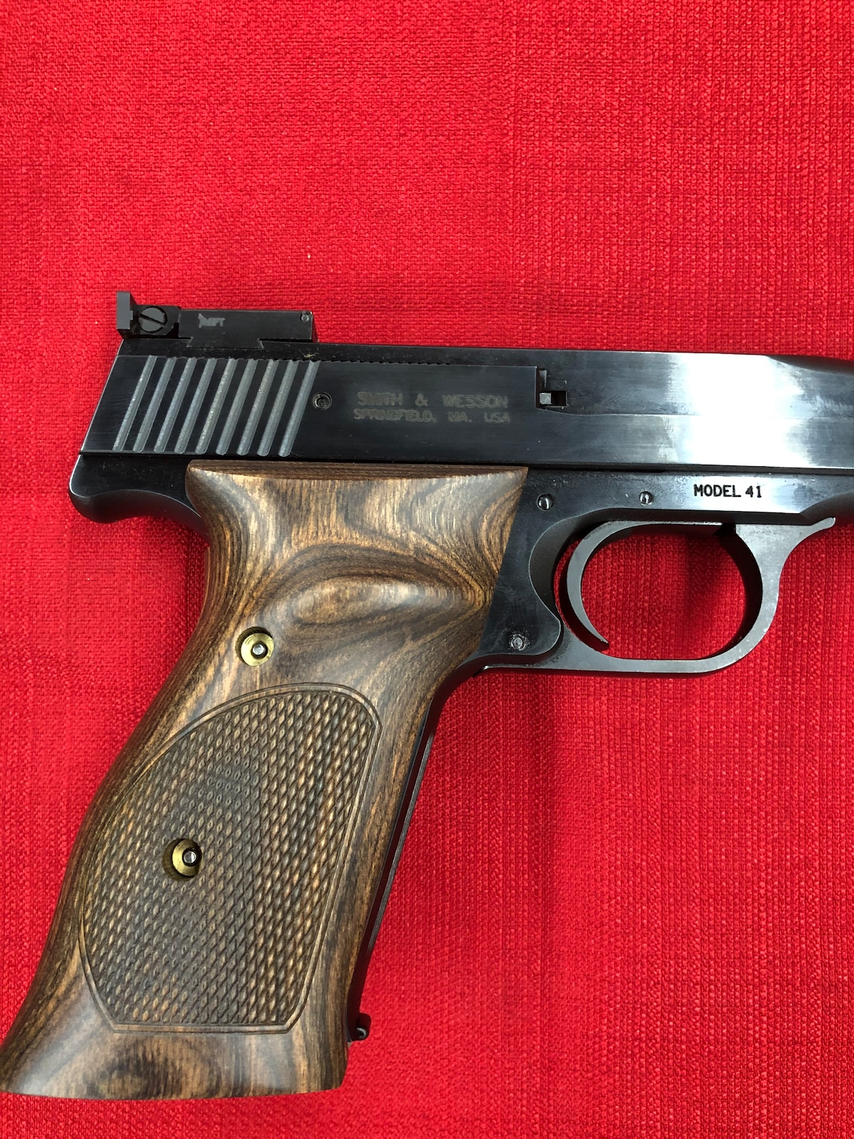 SMITH AND WESSON 41