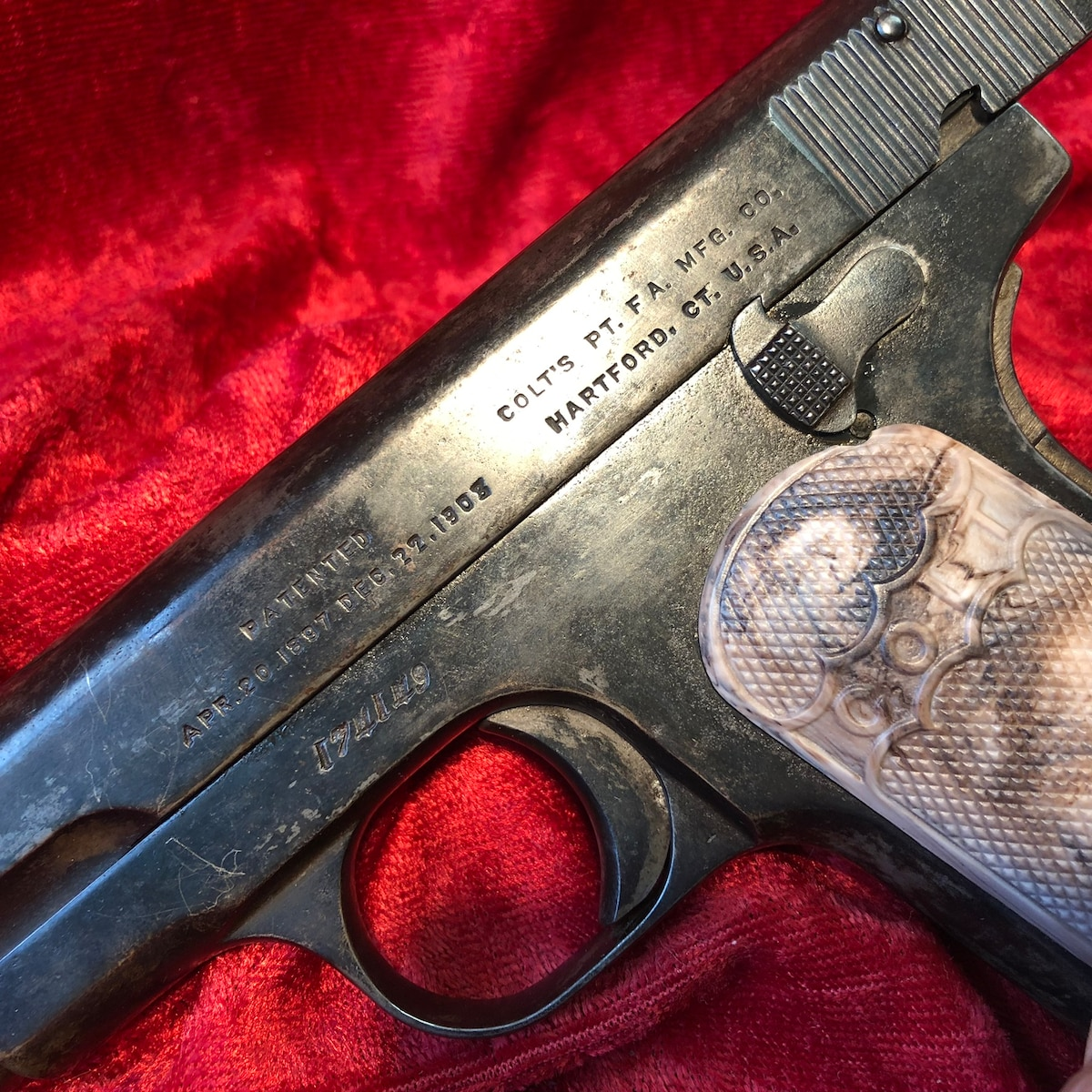 COLT M1903 POCKET HAMMERLESS