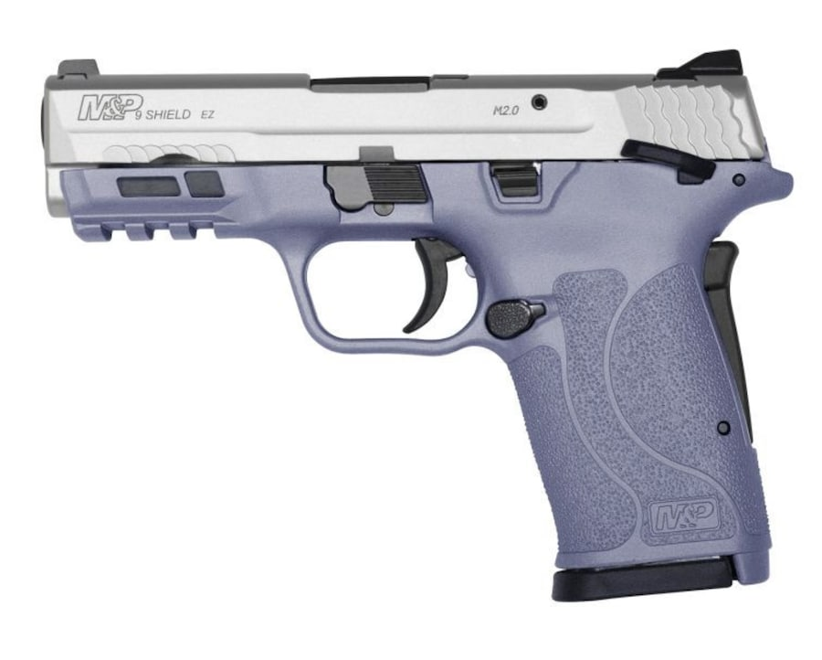SMITH & WESSON M&P9 SHIELD EZ ORCHID/STAINLESS