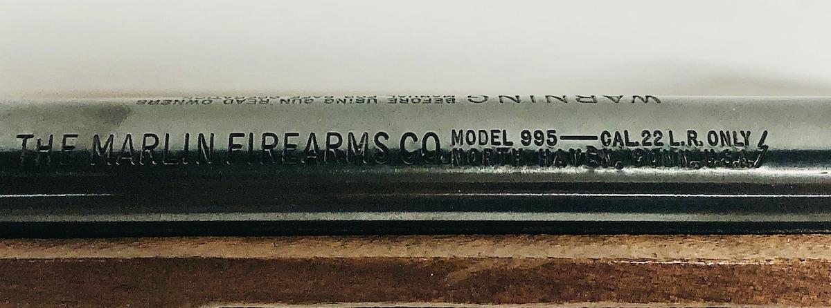MARLIN FIREARMS COMPANY 995