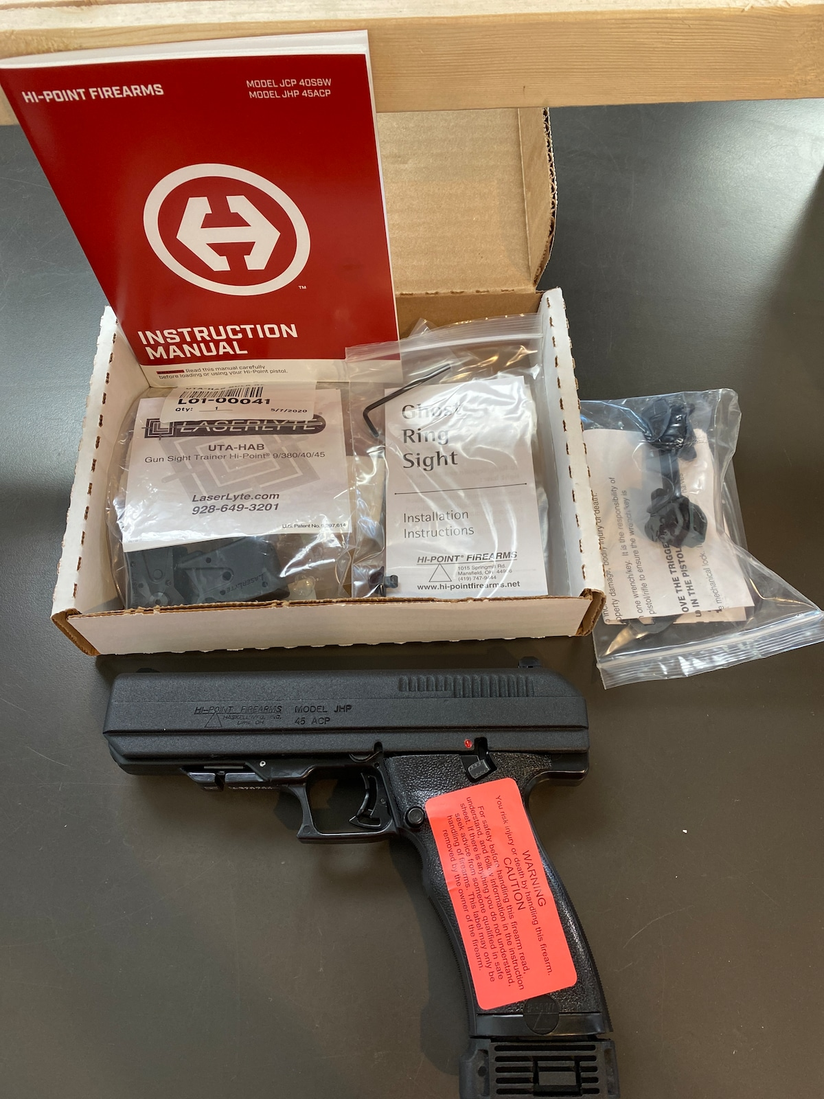 HI-POINT JHP with Laserlyte Laser