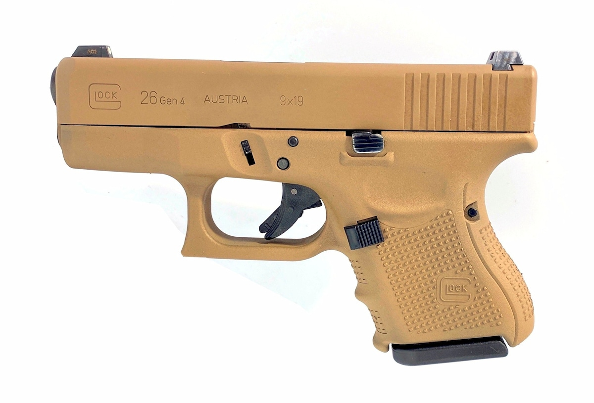 GLOCK G26 GEN4 FDE NIGHT SIGHTS RECONDITIONED