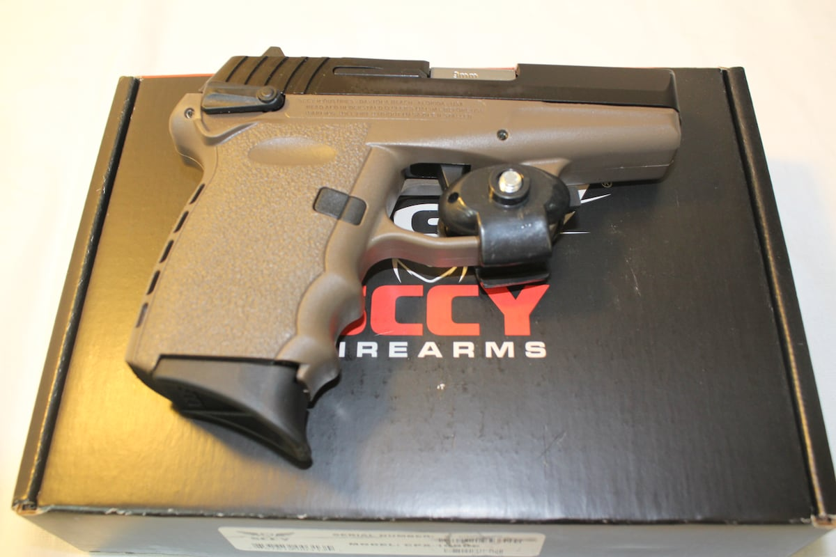SCCY INDUSTRIES cpx-1cbde